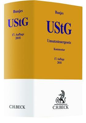 Bunjes | Umsatzsteuergesetz: UStG | Buch