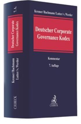 Kremer / Bachmann / Lutter | Deutscher Corporate Governance Kodex | Buch