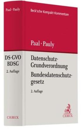 Paal / Pauly | Datenschutz-Grundverordnung Bundesdatenschutzgesetz: DS-GVO BDSG | Buch