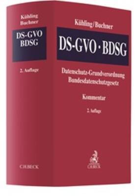 Kühling/Buchner | Datenschutz-Grundverordnung, Bundesdatenschutzgesetz: DS-GVO/BDSG | Buch