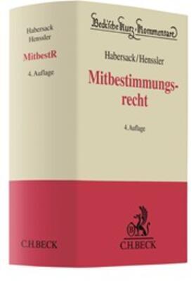 Habersack / Henssler | Mitbestimmungsrecht: MitbestR | Buch