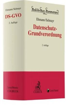 Ehmann/Selmayr | Datenschutz-Grundverordnung: DS-GVO | Buch