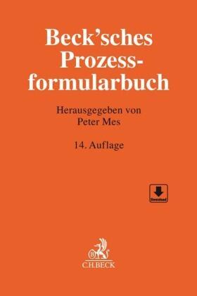 Mes | Beck'sches Prozessformularbuch | Buch