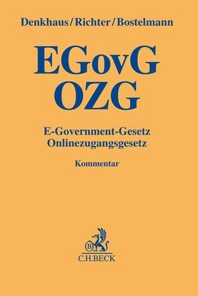 E-Government-Gesetz/Onlinezugangsgesetz: EGovG/OZG