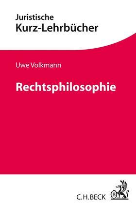 Volkmann | Rechtsphilosophie | Buch