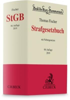 Fischer | Strafgesetzbuch: StGB | Buch