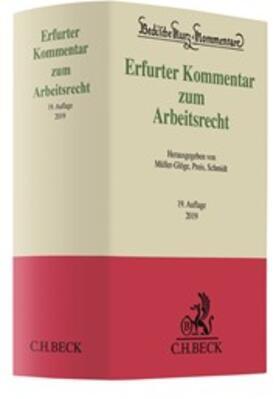 Müller-Glöge / Preis / Schmidt | Erfurter Kommentar zum Arbeitsrecht | Buch