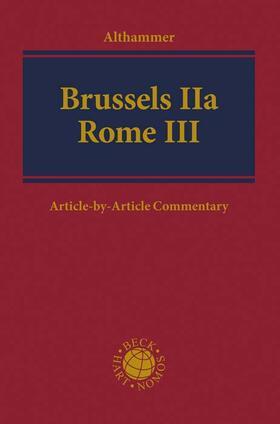Brussels IIa - Rome III