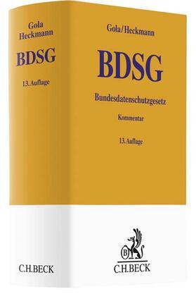 Bundesdatenschutzgesetz: BDSG