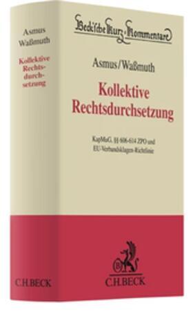 Asmus / Waßmuth   Musterfeststellungsklagen: KapMuG und MFKG   Buch
