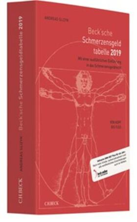 Beck'sche Schmerzensgeld-Tabelle 2019
