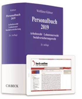 Küttner | Personalbuch 2019 | Buch