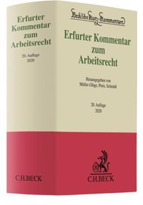 Erfurter Kommentar zum Arbeitsrecht