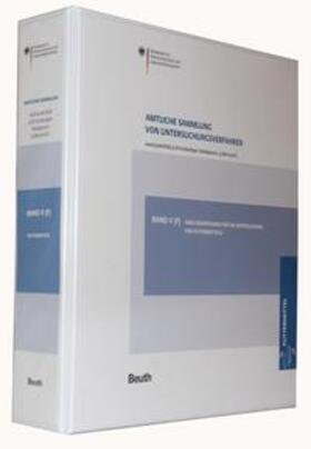 Amtliche Sammlung von Untersuchungsverfahren nach § 64 LFGB, § 38 TabakerzG, § 28b GenTG