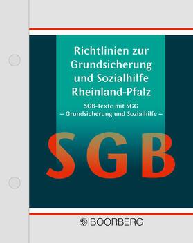 Richtlinien zur Grundsicherung und Sozialhilfe Rheinland-Pfalz