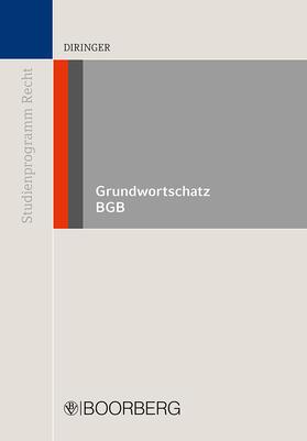 Diringer | Grundwortschatz BGB | Buch