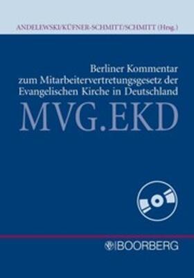 Berliner Kommentar zum Mitarbeitervertretungsgesetz der EKD
