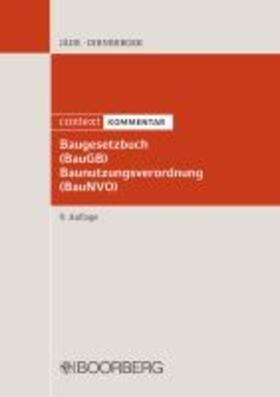 Baugesetzbuch (BauGB) Baunutzungsverordnung (BauNVO)