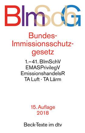 Bundes-Immissionsschutzgesetz: BImSchG