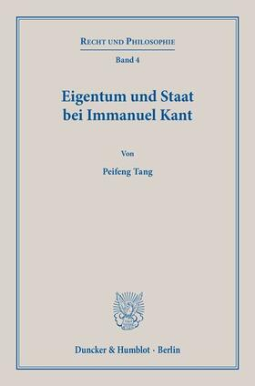Eigentum und Staat bei Immanuel Kant