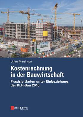 Martinsen | Kostenrechnung in der Bauwirtschaft | Buch