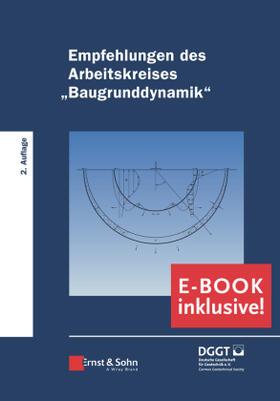 """Empfehlungen des Arbeitskreises """"Baugrunddynamik"""""""