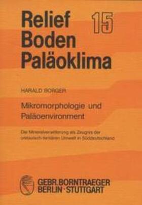 Mikromorphologie und Paläoenvironment
