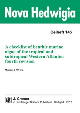 A checklist of benthic marine algae of the tropical and subtropical Western Atlantic: fourth revision