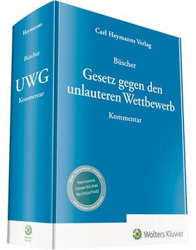 Büscher | Gesetz gegen den unlauteren Wettbewerb: UWG | Buch