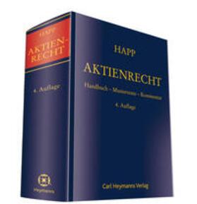 Happ/Groß   Aktienrecht   Buch