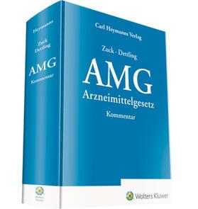 Zuck/Dettling | Arzneimittelgesetz: AMG  | Buch