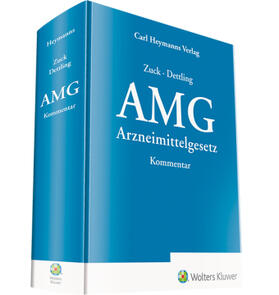 Zuck / Dettling | Arzneimittelgesetz Kommentar | Buch