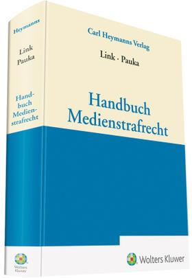 Pauka / Link | Handbuch Medienstrafrecht | Buch