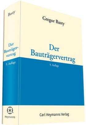 Basty | Der Bauträgervertrag | Buch