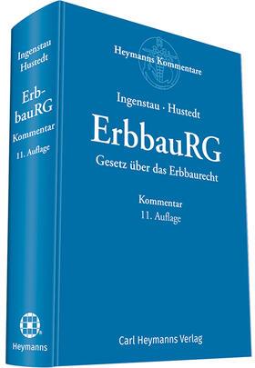 Ingenstau/Hustedt | Gesetz über das Erbbaurecht: ErbbauRG | Buch