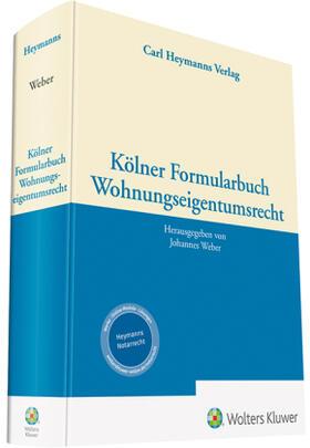 Weber | Kölner Formularbuch Wohnungseigentumsrecht | Buch