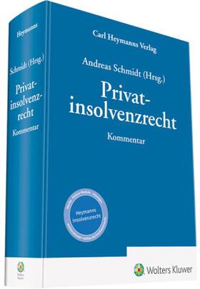 Schmidt   Privatinsolvenzrecht   Buch