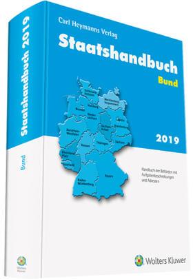 Staatshandbuch Bund 2019