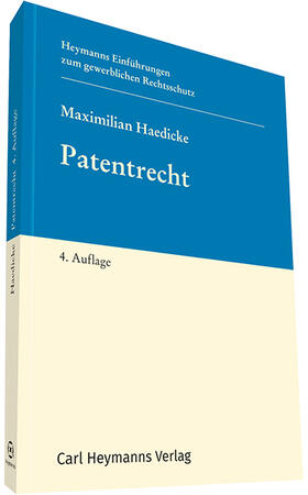 Haedicke   Patentrecht   Buch