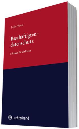 Lelley / Raum   Beschäftigtendatenschutz   Buch