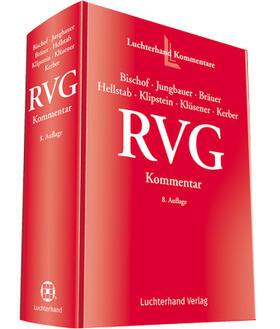 Bischof/Jungbauer/Bräuer | RVG Kommentar | Buch