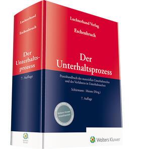 Eschenbruch/Schürmann/Schürmann | Der Unterhaltsprozess | Buch