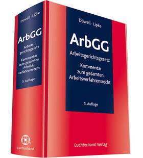 ArbGG Kommentar zum Arbeitsgerichtsgesetz
