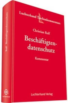 Rolf | Beschäftigtendatenschutz | Buch