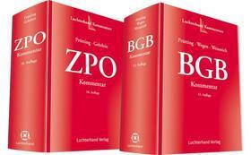 Bundle: BGB Kommentar, 13. Auflage & ZPO Kommentar, 10. Auflage