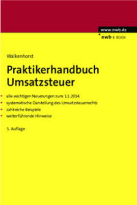 Walkenhorst | Praktikerhandbuch Umsatzsteuer | eBook