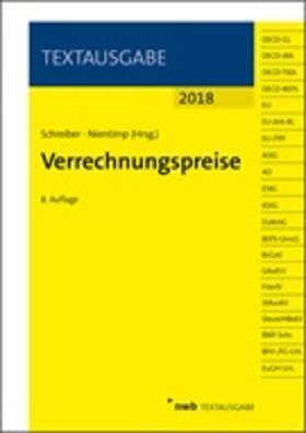 Schreiber / Nientimp | Verrechnungspreise | Buch