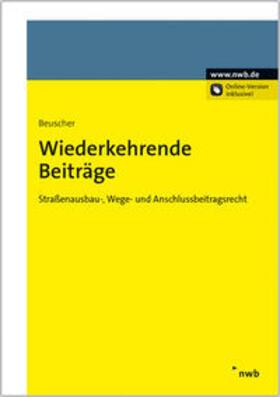 Beuscher | Wiederkehrende Beiträge | Buch