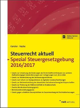 Steuerrecht aktuell Spezial Steuergesetzgebung 2016/2017