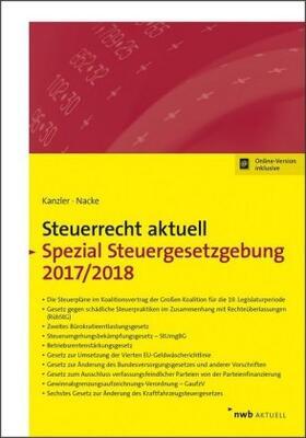 Steuerrecht aktuell Spezial Steuergesetzgebung 2017/2018